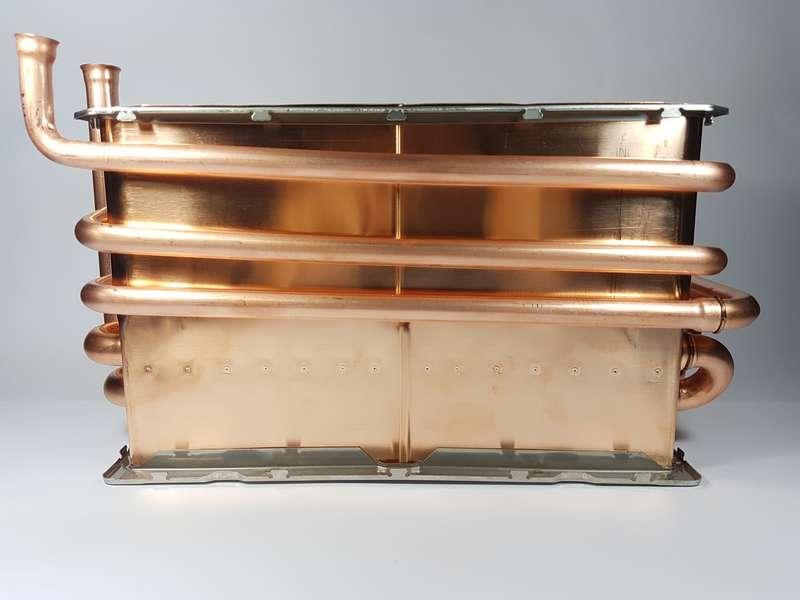 Brasagem de peças de cobre
